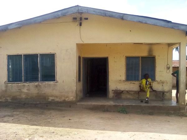 The health centre in Aponmu Lona
