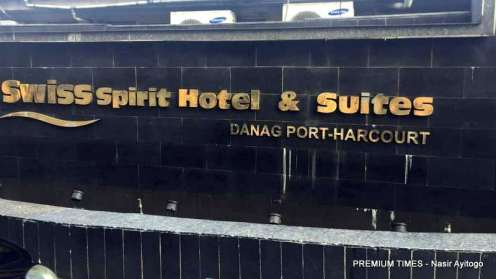 Swiss Spirit Hotel and Suites in Port-Harcourt.