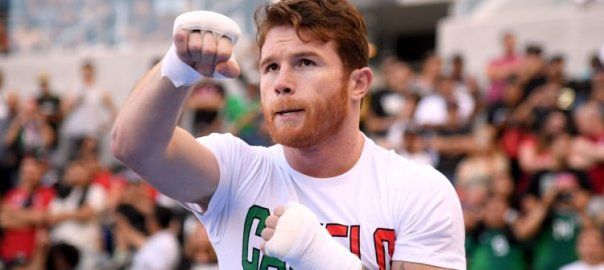 Unified middleweight world champion, Canelo Alvarez