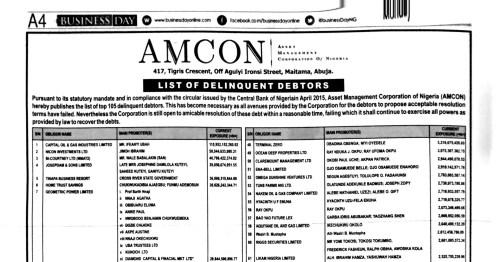 AMCON Debtors 1