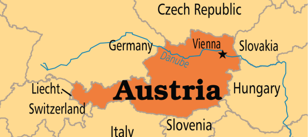 Map of Austria (Photo Credit: Operation World)