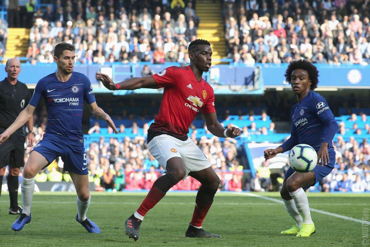 Chelsea Vs Manchester United Vs Fc Barcelona: EPL: Barkley Scores Late Equalizer As Chelsea Deny