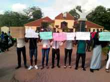Students of MKO polytechnic ground school over lecturer's strike