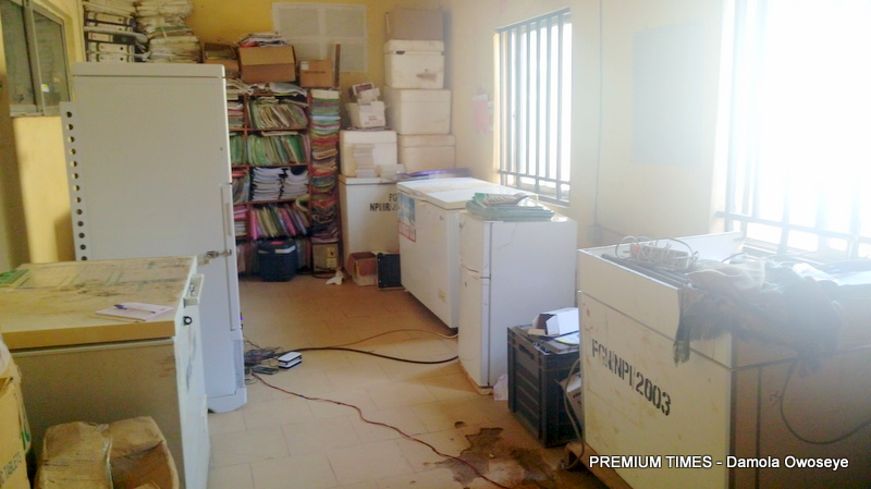 Kuje Area council cold chain store.