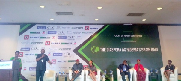Prof Olujimi Coker, Dr Ukwuori-Gisela Kalu, Dr Chumy Nwogu, Dr Fatima Kyari and Dr Atinuke Uwajeh at the future of health conference, Abuja