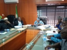 NHIS Governing Board during a meeting