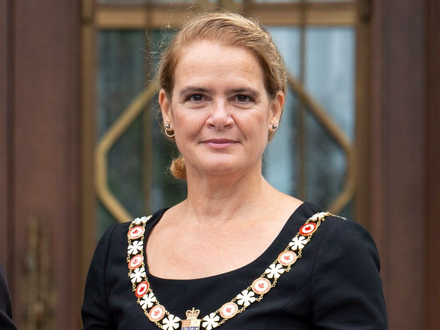Governor General Julie Payette pictured on September 6, 2018.The Canadian Press/Adrian Wyld