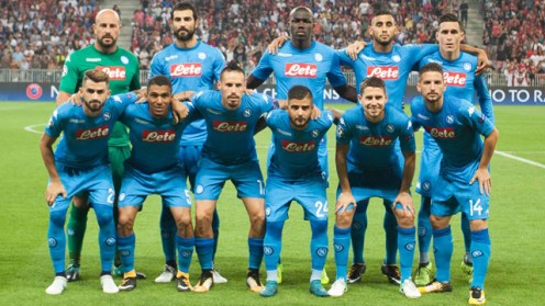 Napoli Team. [PHOTO CREDIT: Worldfootball]