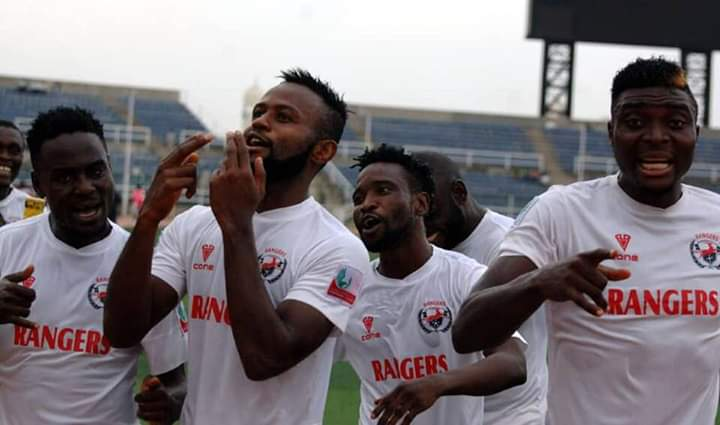 Rangers secure dramatic victory over Kano Pillars to win 2018 Aiteo Cup