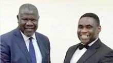 Nnamdi Nwokike (left), Tony Ojobo (right). Photo is courtesy Tony Ojobo's Facebook Page.