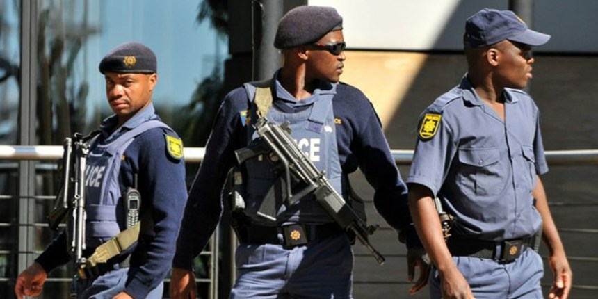 South African police used to illustrate the story. [PHOTO CREDIT: The Guardian Nigeria]