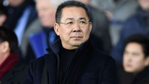 Leicester City owner, Vichai Srivaddhanaprabha. [PHOTO CREDIT: Sky Sports]