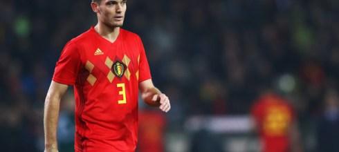 Belgium defender, Thomas Vermaelen. [PHOTO CREDIT: Zimbio]