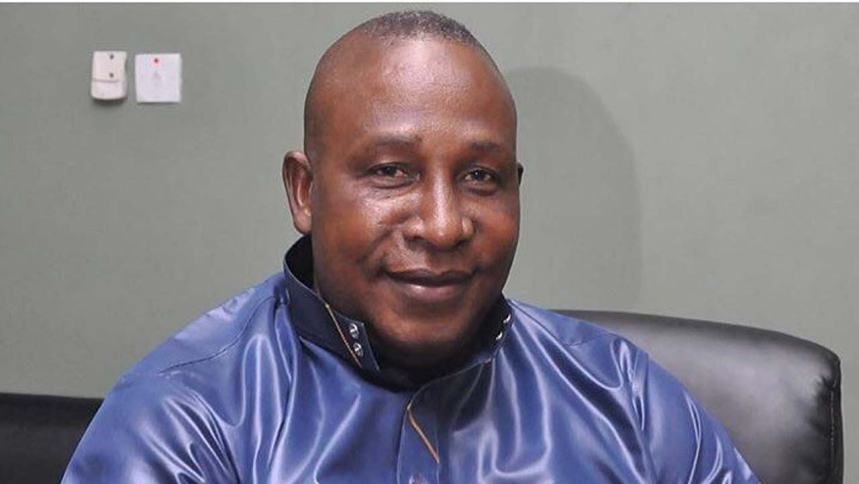 Veteran Nigerian actor, Adebayo Salami popularly known as Oga Bello