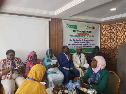 Representatives from the 5 PAS states (Kaduna, Kano, Lagos, Niger and Taraba)