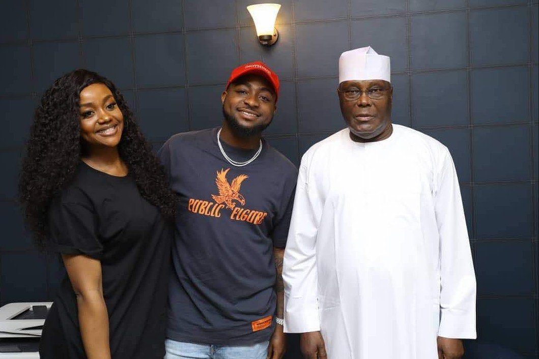 Davido is fast becoming the toast of Nigerian politicians.