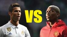 Ronaldo vs Pogba