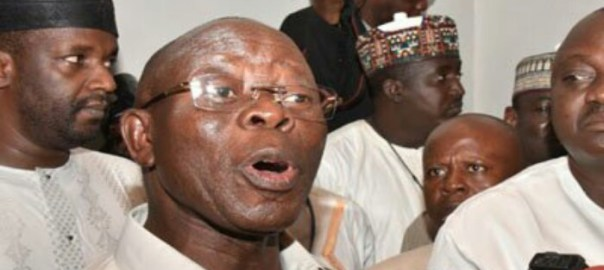 APC National Chairman, Adams Oshiomole Photo: Oriental Times