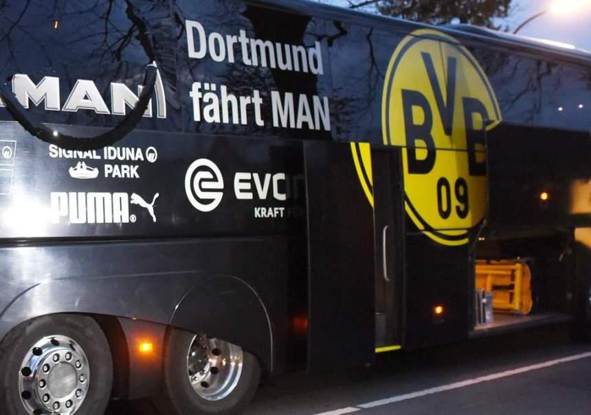 Borussia Dortmund bus [Photo: The Independent