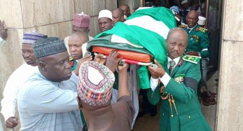 Burial of Idris Alkali
