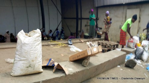 Fish sellers at the Cold room in Toll Gate, Ota, Ogun state-001
