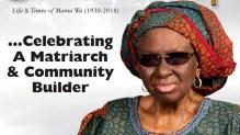 Mama Wa, Felicia Akanke Obasa, nee Sodunke.
