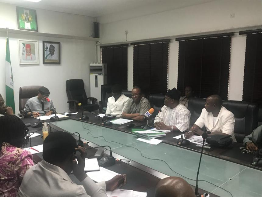 ASUU and Nigerian government negotiation meeting