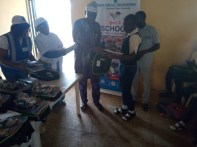 """Mathew is a JSS3 student benefitting from the program without which he might not have made it beyond primary 6, he said """"This is my fourth year that the HFAF has been sponsoring my education, they picked me up from primary six and till date, they provide me with books, uniforms and other materials I need at school. Hadiza Ali Daruge, an internally displaced mother with no hopes for education for her children expressed unbridled joy and gratitude to the foundation. According to her, beyond the education of children like hers, the foundation also provides support for camp dwellers providing much relief from the financial difficulties that is typically a lot of internally displaced persons."""