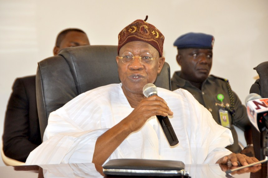 Nigeria's Information minister, Lai Mohammed said Nigerians not cooperating over measures to stop the Coronavirus spread