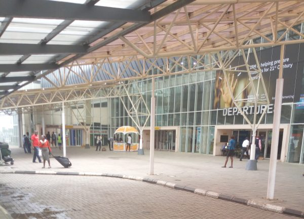 Open section of MM2, Lagos airport