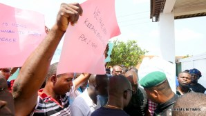 Niger Delta youth protest