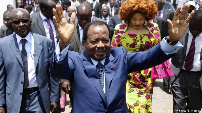 Paul Biya [Photo: DW]