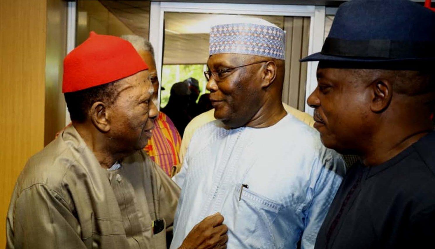 Atiku meets Igbo leaders, vows to fix Nigeria
