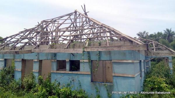 Abandoned Healthcare centre, Iropora