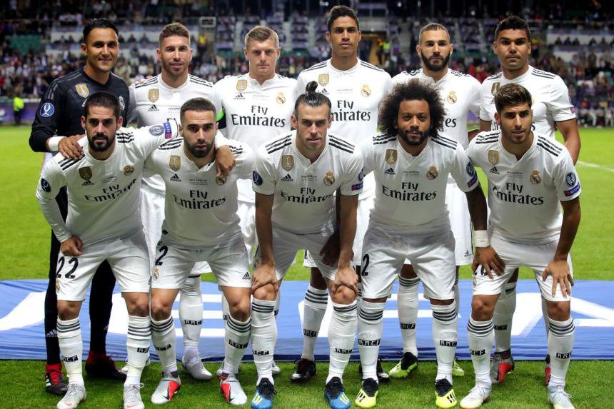 Real Madrid Team. [PHOTO CREDIT: Managing Madrid]