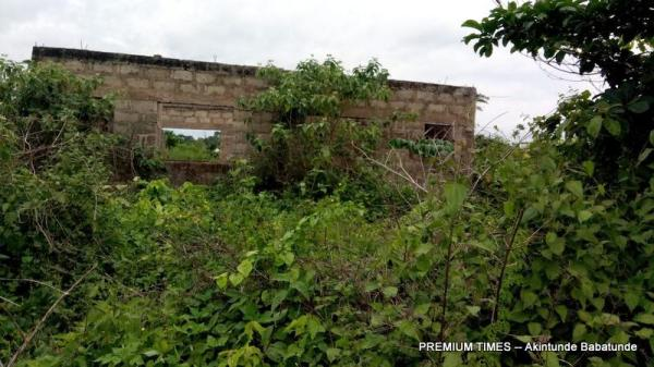 Abandoned Igede healthcare centre