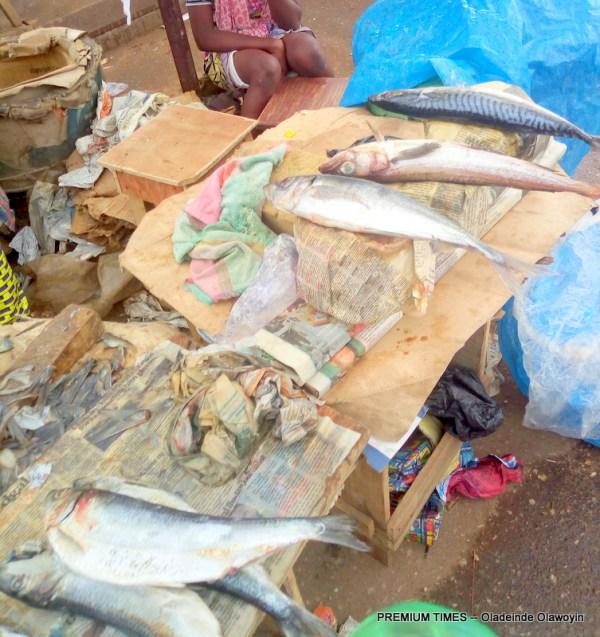 fish sellers in Agege Lagos