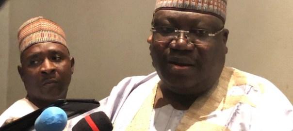 Senate President Ahmed Lawan