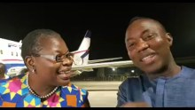 Oby Ezekwesili and Omoyele Sowore [Photo: YouTube]