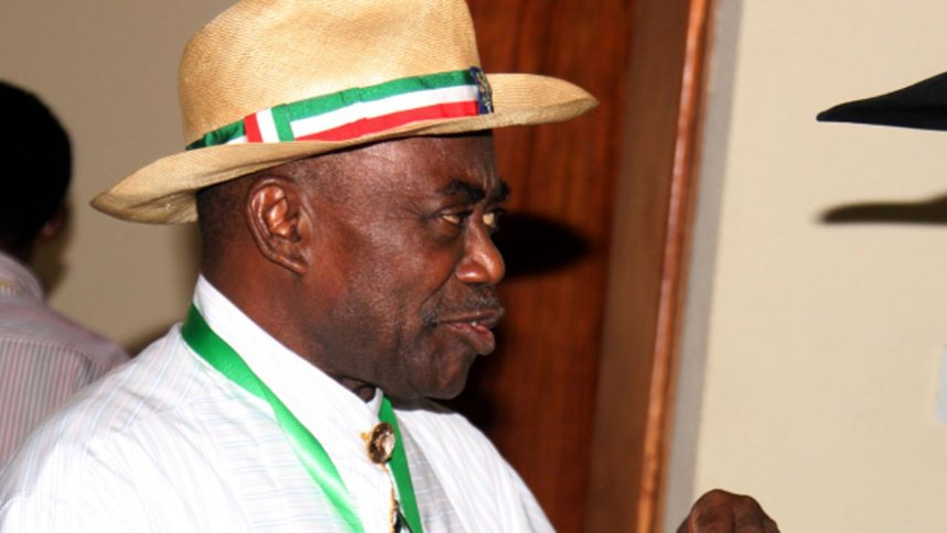 Former Rivers State governor, Peter Odili (Photo Credit: The Guardian Newspaper)