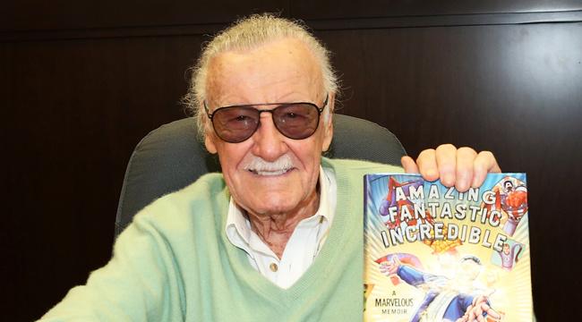Stan Lee, the mastermind behind Marvel Comics. Photo credit: UPROXX