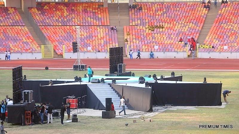 National Sports Festival: Buratai, Obaseki attend opening ceremony in Abuja