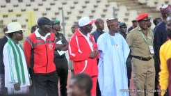 Minister of SPorts, SOlomon Dalung; FCT Minister, Muhammed Bello and others.