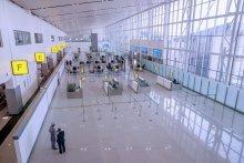 President Muhammadu Buhari at the commissioning of the Abuja Airport International Terminal