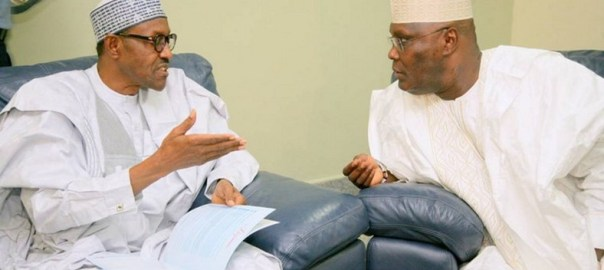 Buhari and Atiku (Photo Credit: Pulse)