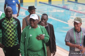 Dalung at the pool side