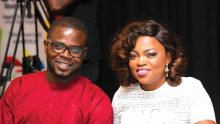 Funke Akindele and husband, JJC Skillz