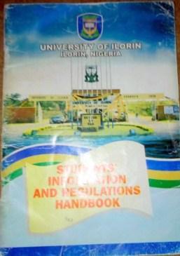 Unilorin's Student Handbook