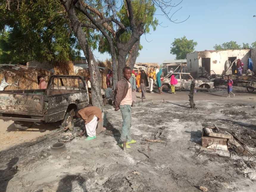 Houses burnt in Boko Haram attack on Rann Community