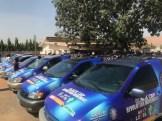 Buhari/Osinbajo campaign vans